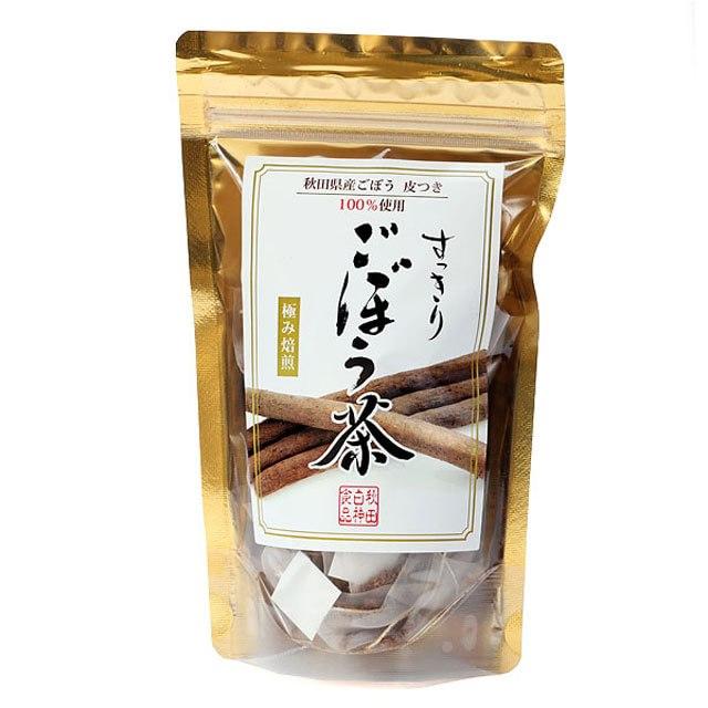 秋田白神食品 秋田県三種町産ごぼう100%使用 すっきりごぼう茶 ...