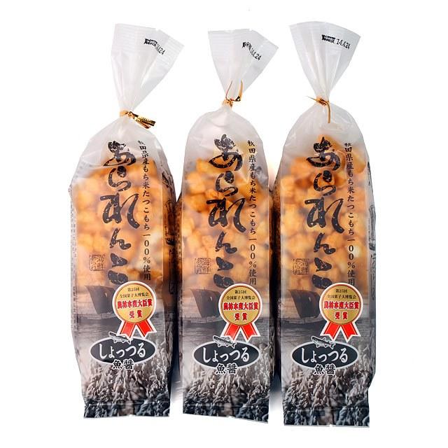 秋田いなふく米菓 あられんこ しょっつる味 3個セット秋田いなふく米菓 あられんこ しょっつる味 3個セット一緒にこんな商品もご注文頂いています